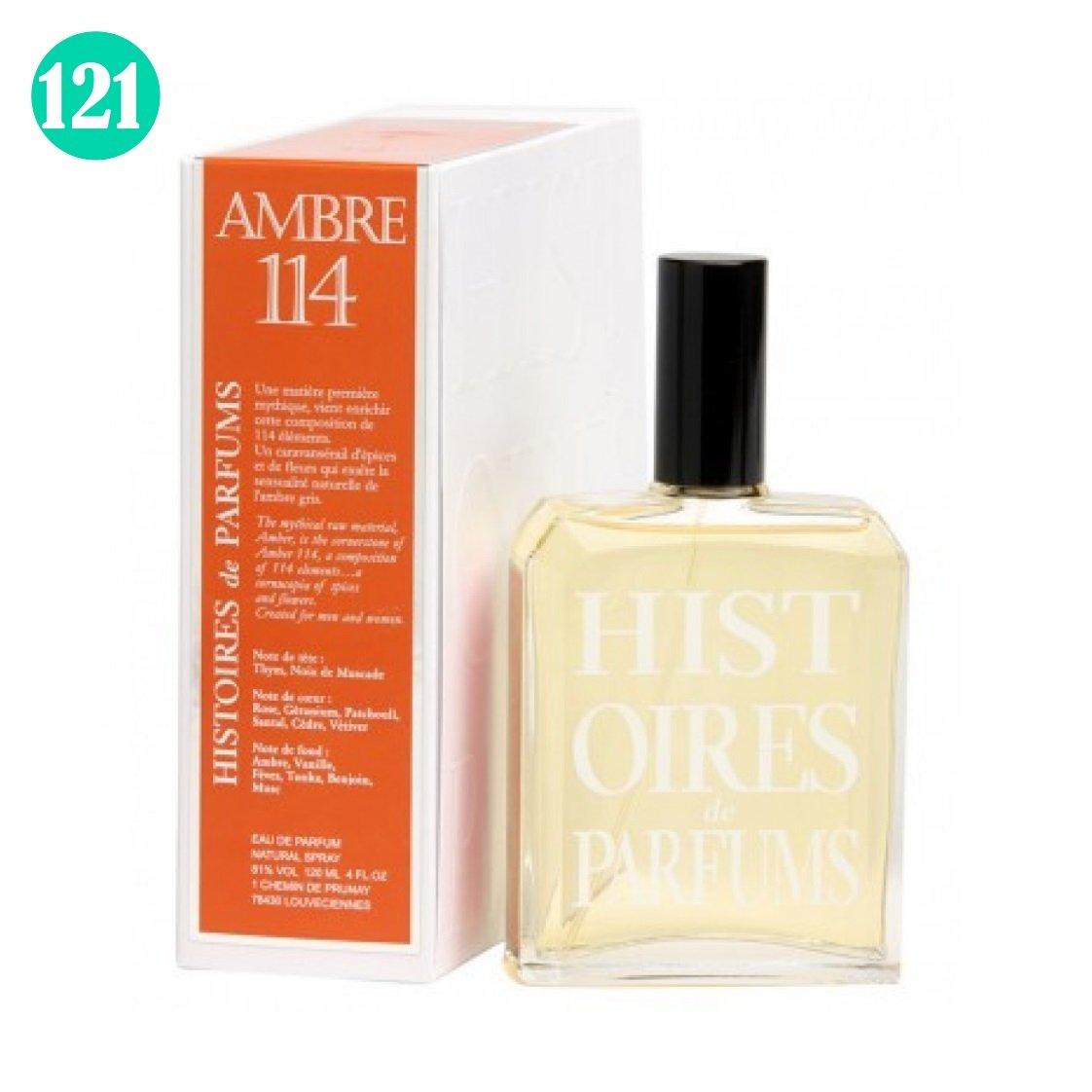 AMBRE 114 di Histoires de Parfums unisex