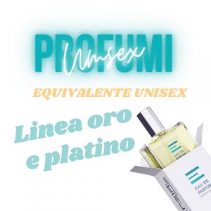 EQUIVALENTE UNISEX oro - platino